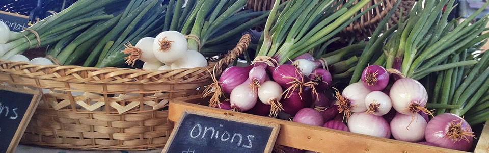 Onions at Market