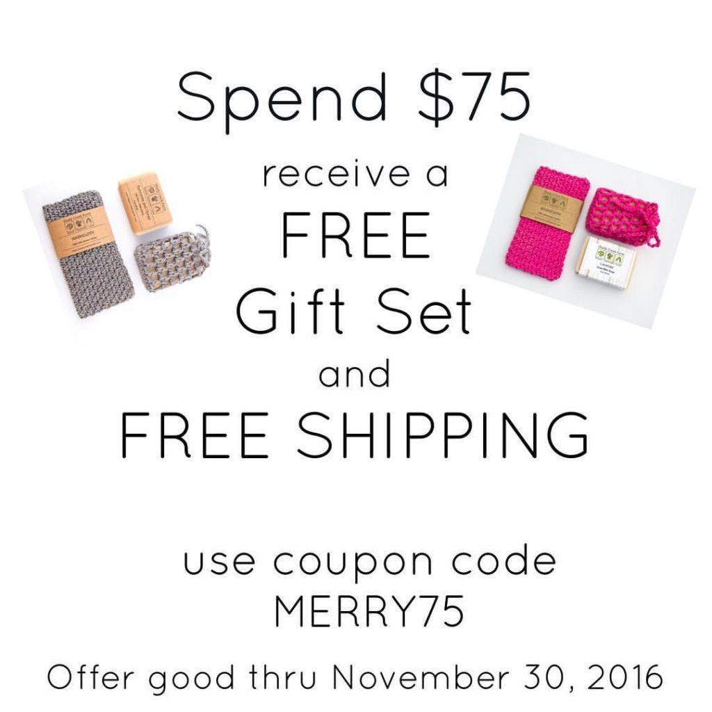 Free Gift Set Sale
