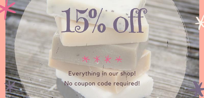 15% off spring sale
